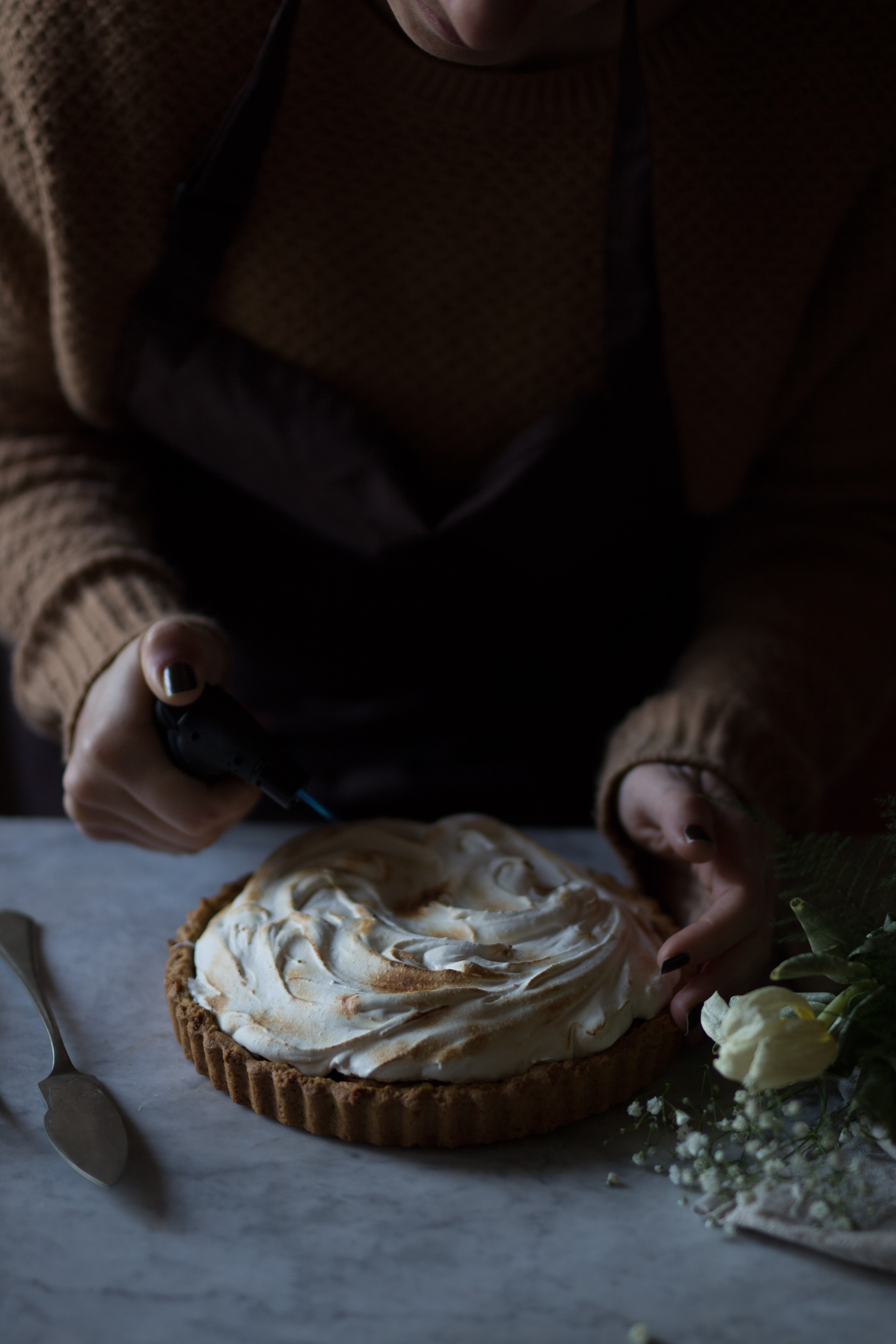 Meringa pie