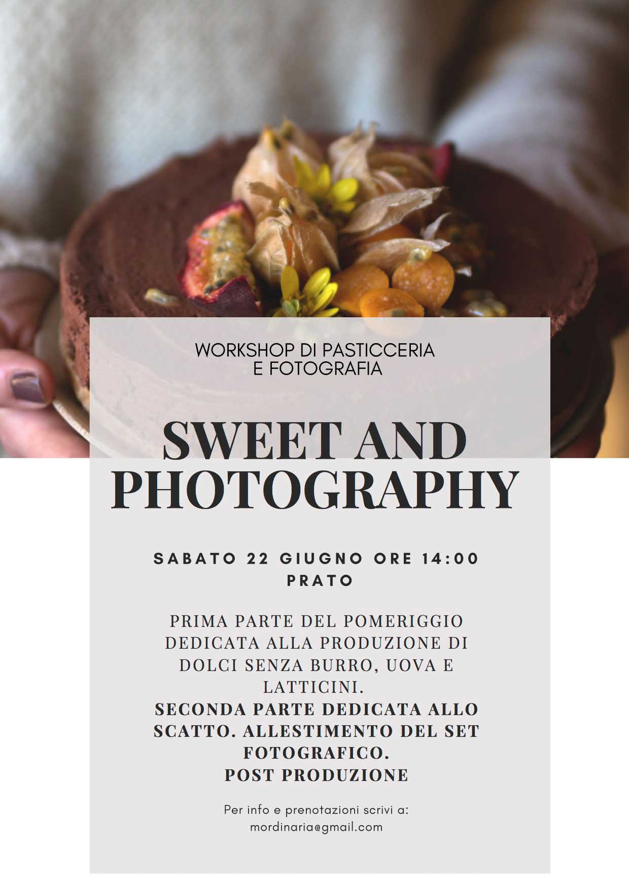 SWEET AND PHOTOGRAPHY