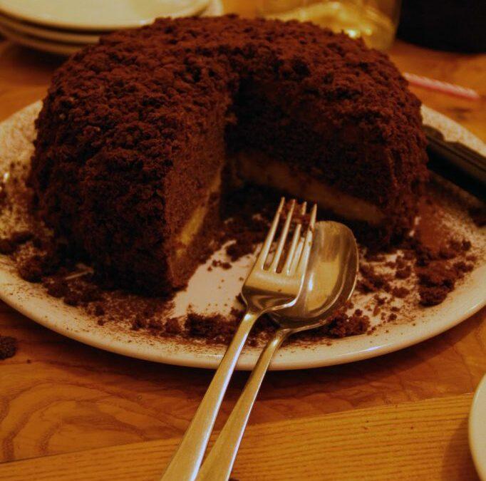 Torta Mimosa Nera