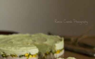 Raw Banana, Avocado & Pistachio Cake