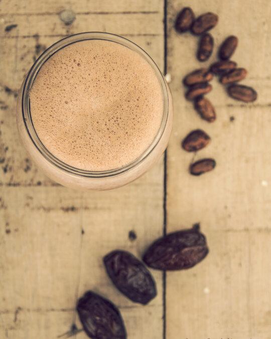 Latte al cioccolato